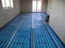 RD Nová Bělá - podlahové vytápění 1