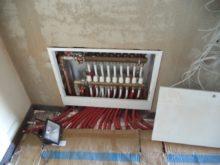 RD Nová Bělá - podlahové vytápění 2