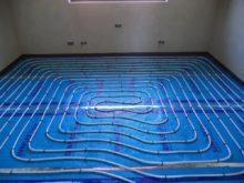 RD Nová Bělá - podlahové vytápění 3